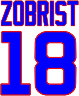 Ben Zobrist Chicago Cubs Jersey Number Kit, Authentic Home Jersey Any Name or Number Available