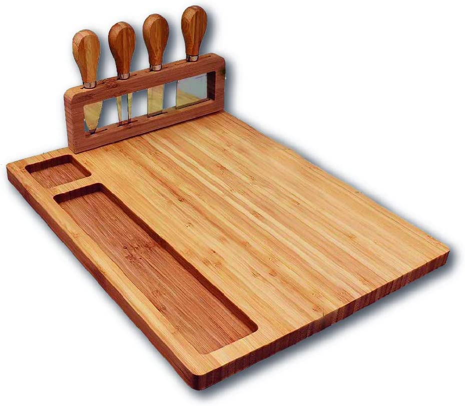Cheese Cutting Board Set| Cheese Board And Knife Set| Perfect Ch