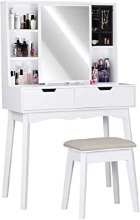 Best vanity with a lot of drawers Reviews