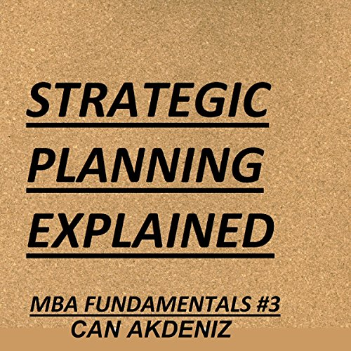 Strategic Planning Explained audiobook cover art