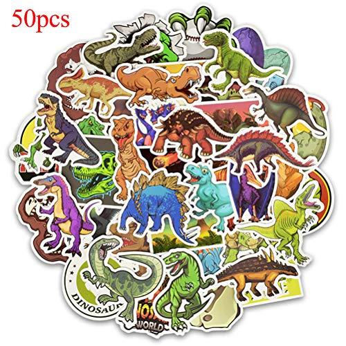 FADACAI Dinosaurus Sticker Sticker Stickers voor Kinderen Laptop Koffer 50 Stks