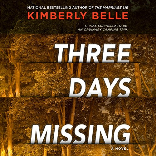 Three Days Missing audiobook cover art