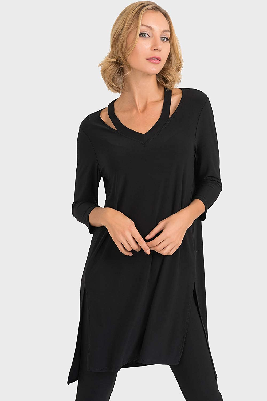 Joseph Ribkoff Black Tunic Style 193070