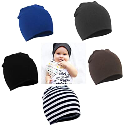 YJWAN Toddler Infant Baby Beanie Soft Cute Cott...