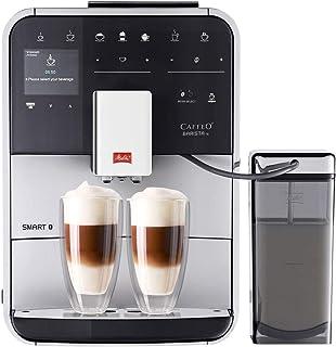 Melitta F850-101 Máquina de Café Automática Caffeo Barista TS Smart (Plata) F 850-101, 1450 W, 1.8 litros