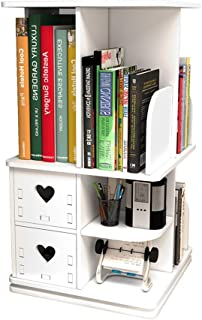 YXB KSBRM Organizador de escritorio de almacenamiento de escritorio, estantería de almacenamiento para oficina, hogar, fácil de seguir con cajones de papelería suministros de oficina rack de piso
