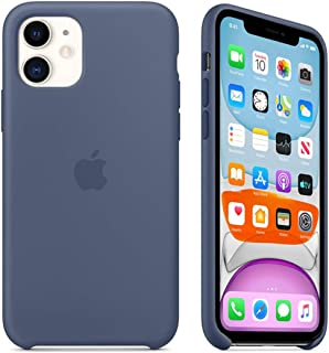 Maycase Compatible for iPhone 11 Case, Liquid Silicone Case Compatible with iPhone 11 (2019) 6.1 inch (Alaskan Blue)