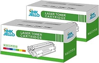 InkJello Compatible Toner Cartucho Reemplazo por Samsung ML-2850 ML-2850D ML-2850DR ML-2850ND ML-2851ND ML2850B (Negro, Doble-Pack)