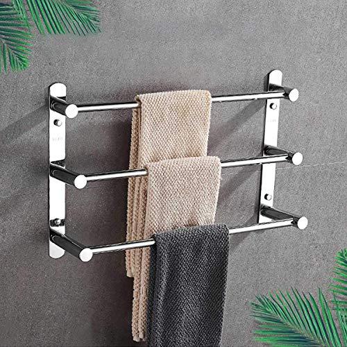 WLVG 3-stufiger Handtuchhalter aus...