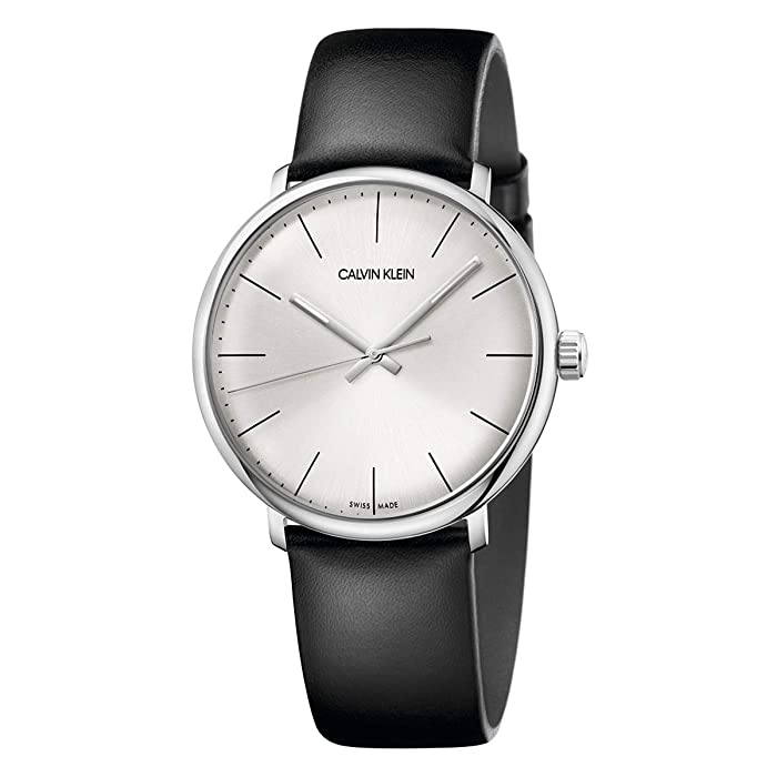 Calvin Klein  High Noon Watch - K8M211C6 (Silver/Black) Watches