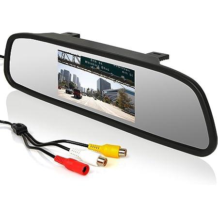 Cocar 12 24v 4 3 Auto Rückspiegel Display Monitor Lcd Elektronik