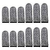 ALLWORK Protectores de dedos de 12 piezas, cómodos, transpirables,...