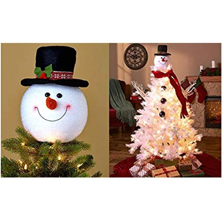 Snowman w Top Hat Glittered Interchangeable Badge Reel  Holder and Topper