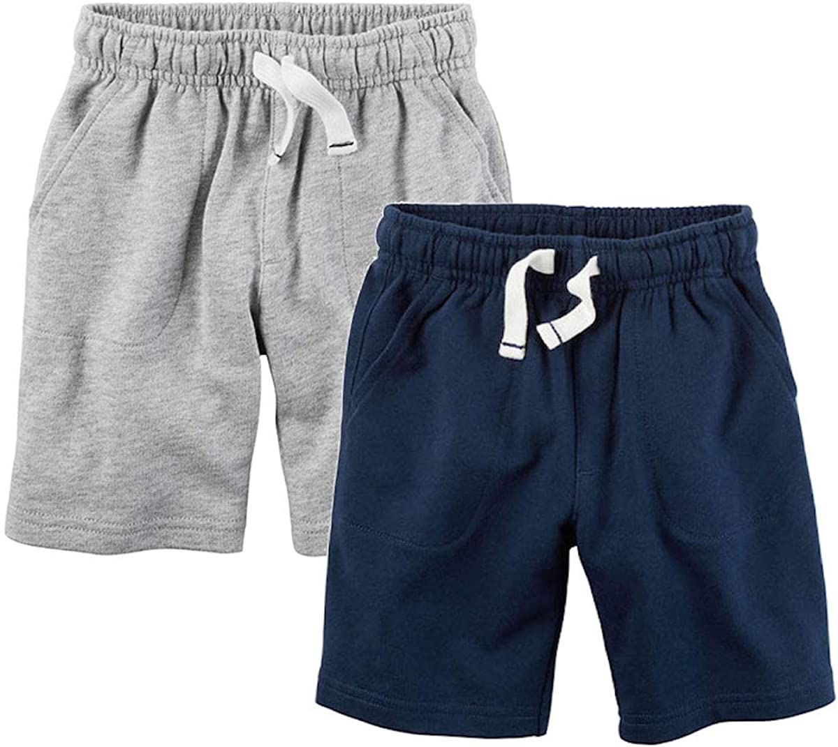 Carter's Max 84% OFF Boys' Limited Special Price 2-Pack Shorts Terry French