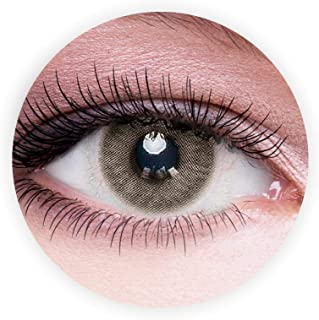 Dahab Ice Contact Lenses, Unisex Dahab Cosmetic Contact Lenses, 9 Months Disposable- Natural and Beauty Collection, Ice (D...