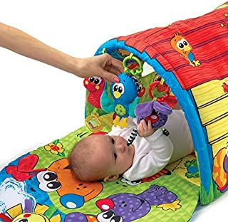 Playgro 0183775 Puppy Playtime Tunnel Gym STEM Toys for Baby