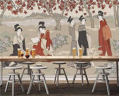 Wallpaper 3D Advanced Wallpaper, fotobehang, alle fotobehang, retro, vrouw tuingereedschap, achtergrond behang, 300 cm x 210 cm.