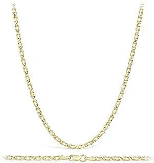 Ohrstecker Anhänger Collier Schmuckset Kugel mit Halskette Silber Gelbgold S104