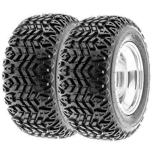 SunF 23x11-10 23x11x10 ATV UTV Tires 4 PR Tubeless G003 [Set of 2]