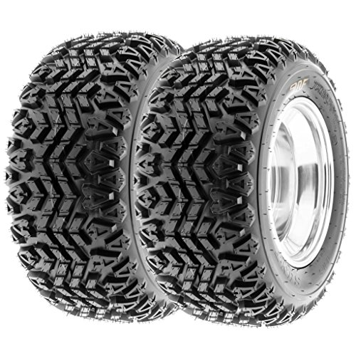 SunF 20x10-8 20x10x8 ATV UTV Tires 4 PR Tubeless G003 [Set of 2]