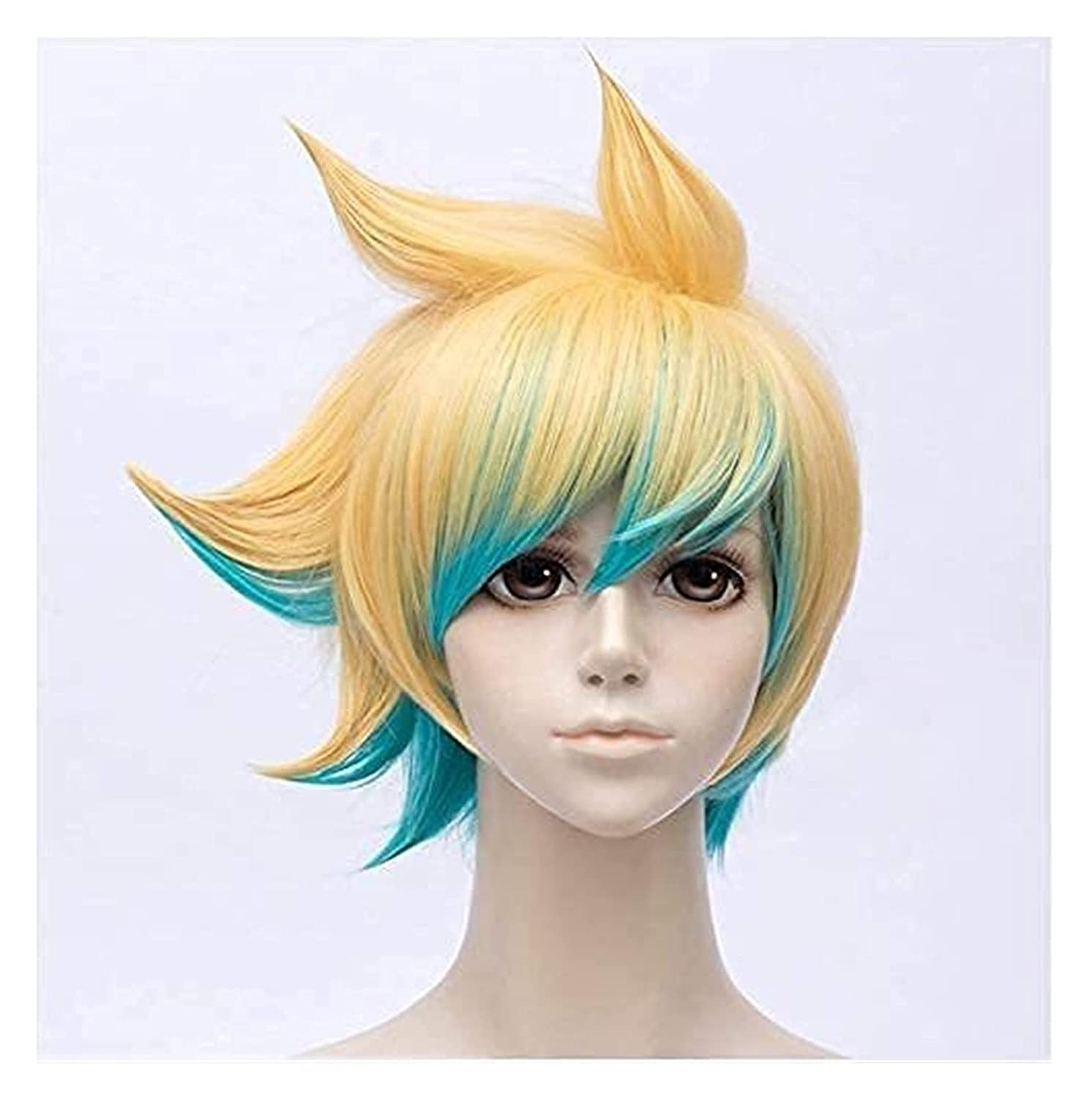 Hair caps NEW and wig Game LOL Explorer Cosplay quality assurance Ezreal Prodigal The