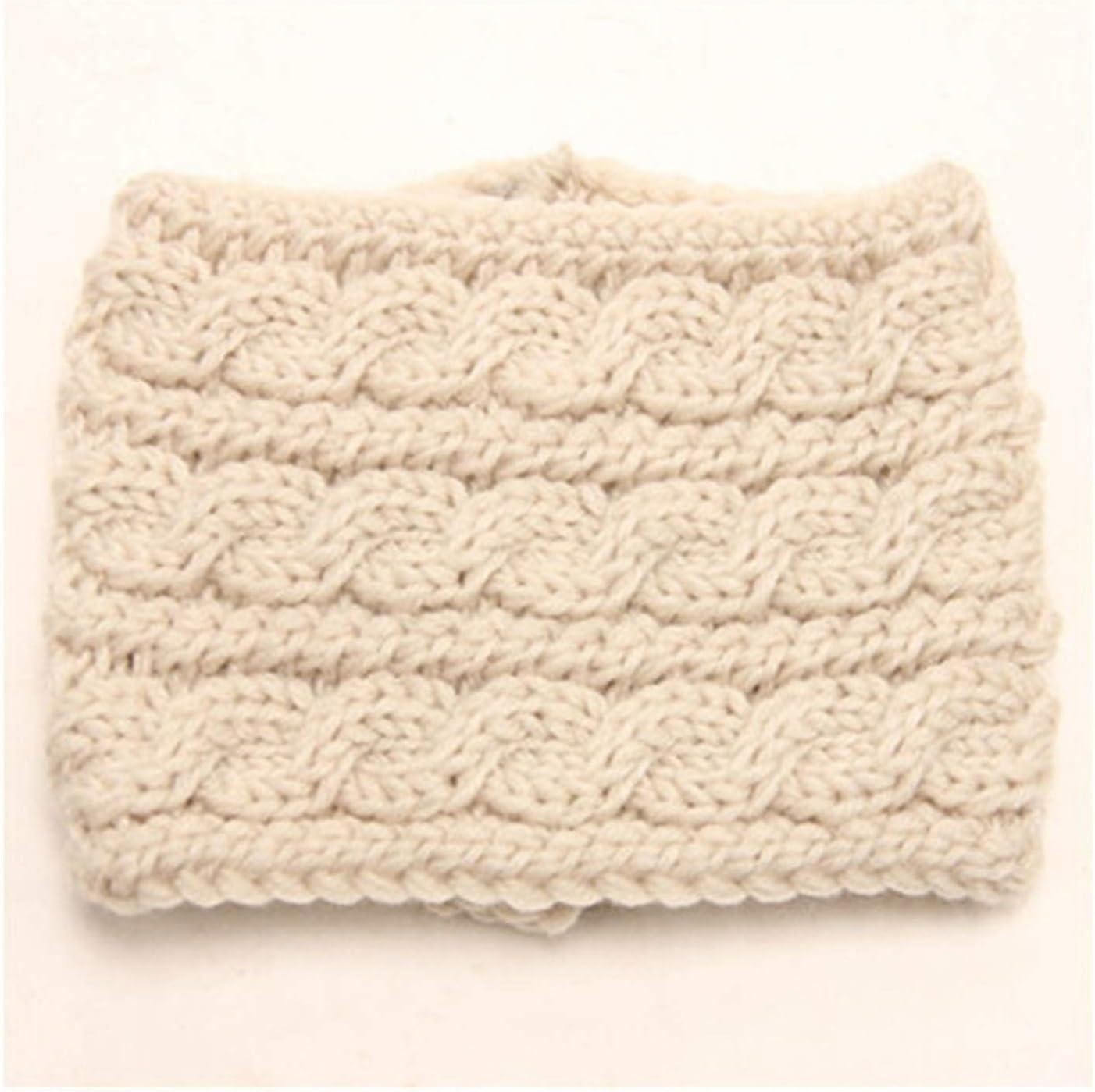 Baby Fan Woven Wool Headband Winter Ear Protection for Women to Keep Warm Headband Headwear (Color : A1, Size : Size fits All)