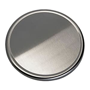 Escali Stainless Steel Platter for NSF Compliant P115 Scales, P115PL