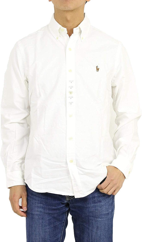 Polo Ralph Lauren Kids Boy's Cotton Oxford Sport Shirt (Big Kids) White XL (18-20 Big Kids)