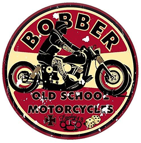 Finest-Folia Retro Vintage Aufkleber Sticker Old School Ace Kult Rockabilly (#1 Bobber)