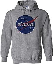 PatPat Store NASA Space Rocket Moon Space Astronaut Novelty Black Men Women Unisex Hooded Sweatshirt Hoodie