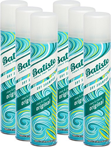 Batiste Shampooing sec Dry Clean & Classic...
