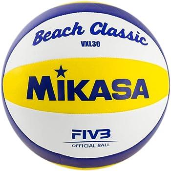 Pelota de mini voleibol 15 cm Mikasa MVA 1.5 Amarillo y azul