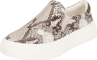 Cambridge Select Women's Round Toe Stretch Slip-On Chunky Platform Fashion Sneaker