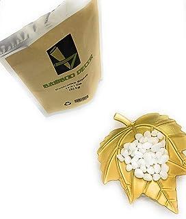 Bamboo Decor Decorative Stones 2 KG - 4.4 LB For Plants -Vases-Aquariums_Size (2-4) cm_(3-5) cm_White color ((1-2) CM)