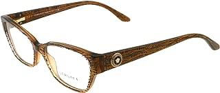 Versace Eyeglasses VE 3172 Eyeglasses 991 Lizard Brown 54mm