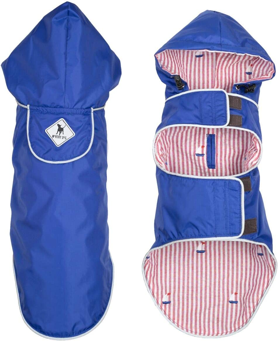 half The Worthy Dog Apex Jacket Made Nylon Fleece Lined Water Factory outlet of