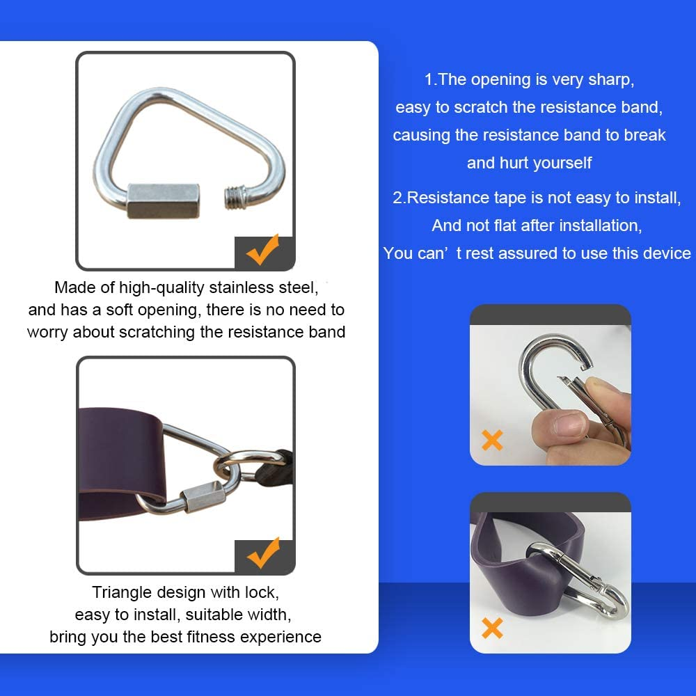 Resistance Belt Kit with Handle and Door Anchor,Used Home Gym Whole Body Strength Training FOSER Portable Resistance Bar with Resistance Bar Pull-up Resistance Band Set