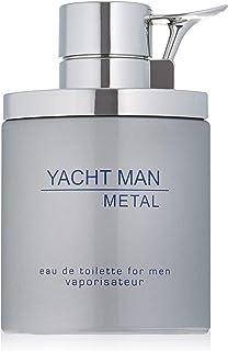 Myrurgia Yacht Man Metal 100ml Eau de Toilette Spray Men, 146977
