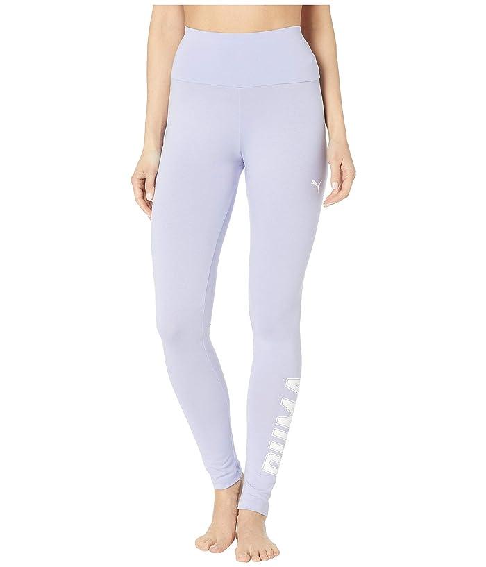 PUMA Athletics Logo Leggings (Sweet Lavender) Women
