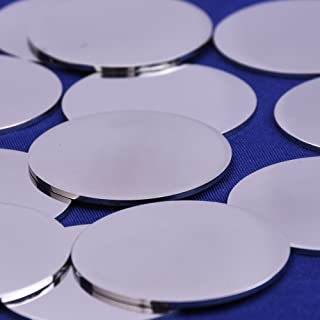 New 50 PCS.036 Stainless Steel Metal Circle Round Disc x 45mm Diameter 304 SS 20ga SS Circle Round Disc LM-1883J Raw Materials Warranity by KolotovichTool