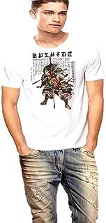 Samurai T-shirt Japanese Bushido Hell Wind Staff By Warface Apparel Inc