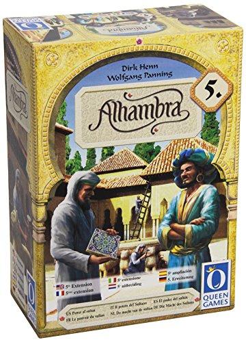 Queen Games 60347 - Alhambra - 5. Erweiterung: Die Macht des Sultans