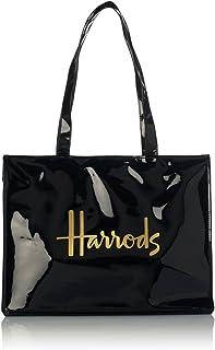 Signature Logo Tote Bag - Bolso al hombro para mujer Negro Negro H 29cm x W 38 cm x D 11 cm +/-