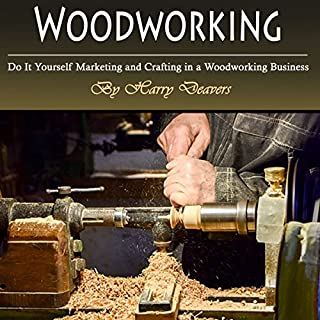 Woodworking audiobook cover art