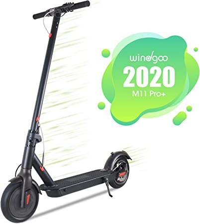 Windgoo Patinete Eléctrico Plegable E Scooter, hasta 25 km/h ...