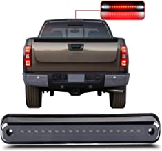 For 1988-1998 Chevy GMC C/K C10 Silverado Sierra High Mount Brake Light Smoke Lens LED Light LED 3rd Brake Light Cargo Light