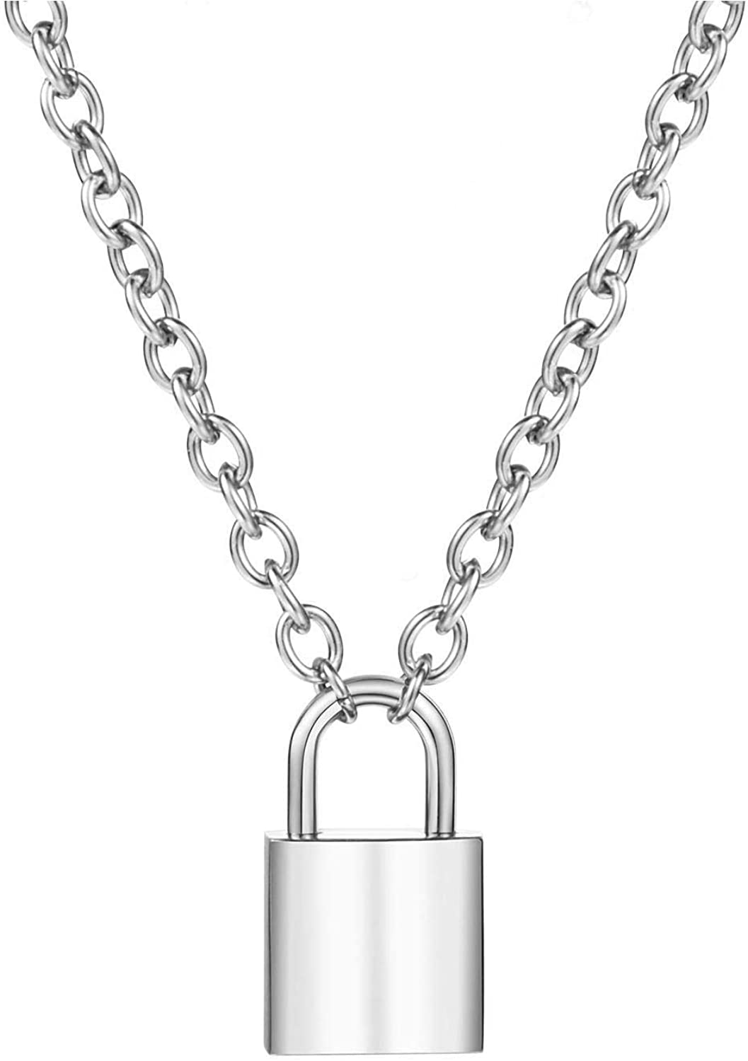 Firsteel Punk Hiphop Rock New popularity Gothic Style Lock Pen Necklace Key Fort Worth Mall and