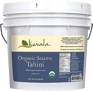 Sesame Organic Tahini Bulk, Kevala, 8 Lb Pail