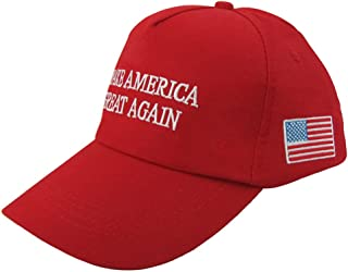 Cocobla Make America Great Again US D.Trump Embroidered Hat Adjustable Baseball Cap