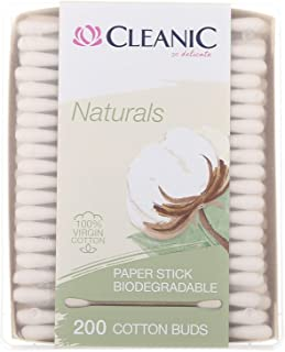 Cleanic Naturals Cotton Care Buds - 200 Pieces